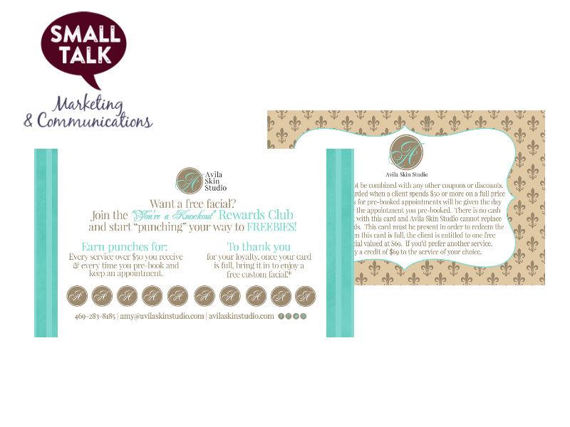Avila's Loyalty Card