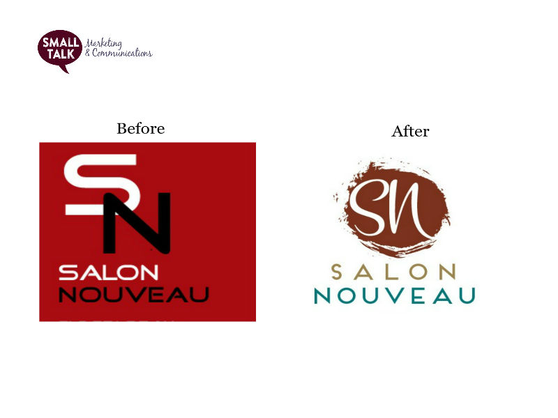 Branding - Salon Nouveau Menu Design