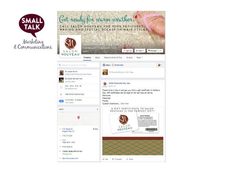 Salon Nouveau Social Media Management
