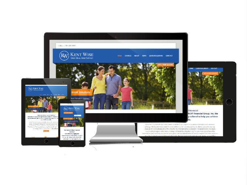 Website Design - Wise Financial Services