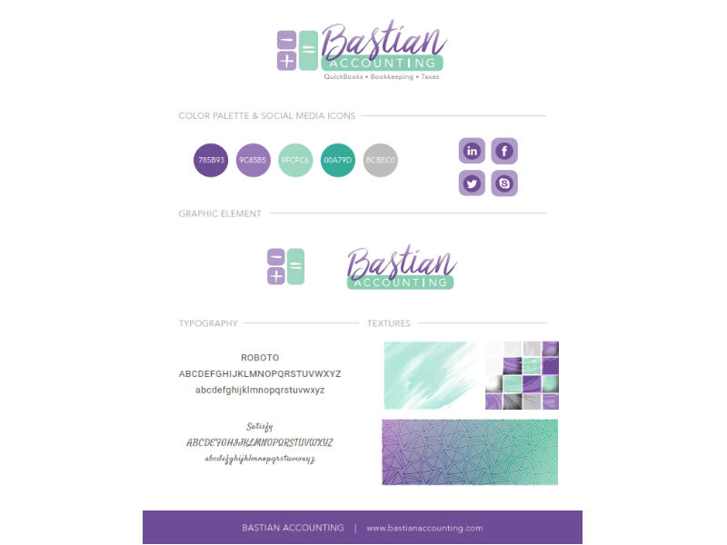 Stephanie Cattarin Branding Sample