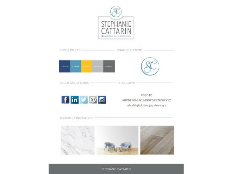 Stephanie Cattarin Branding Sample