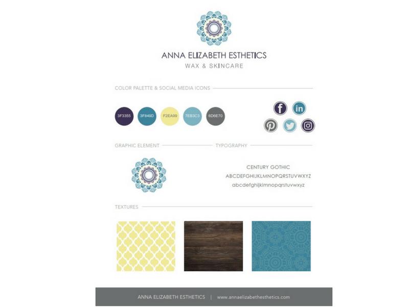 Anna Elizabeth Branding Sample
