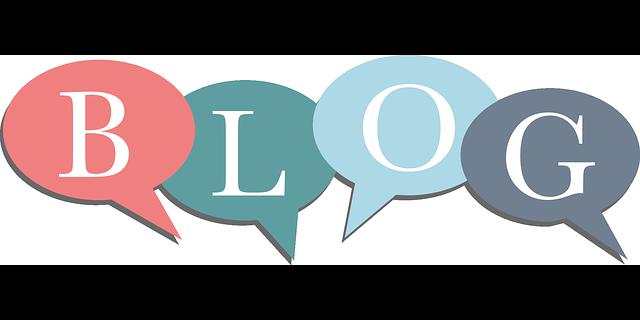 Blog Bubble Letters