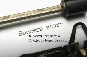 Success Story - Plumeria Logo Redesign