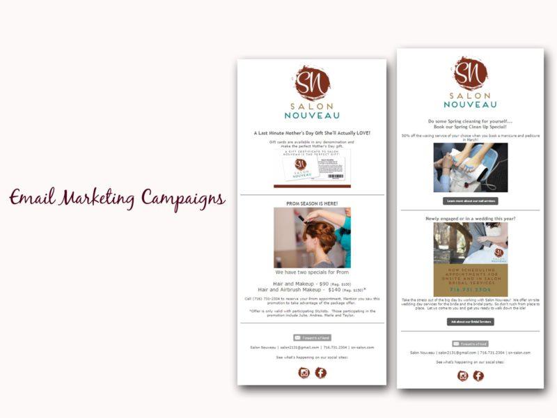 Portfolio Sample - Email Marketing