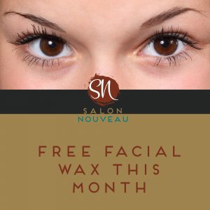 Branded Photo - Free Facial Wax