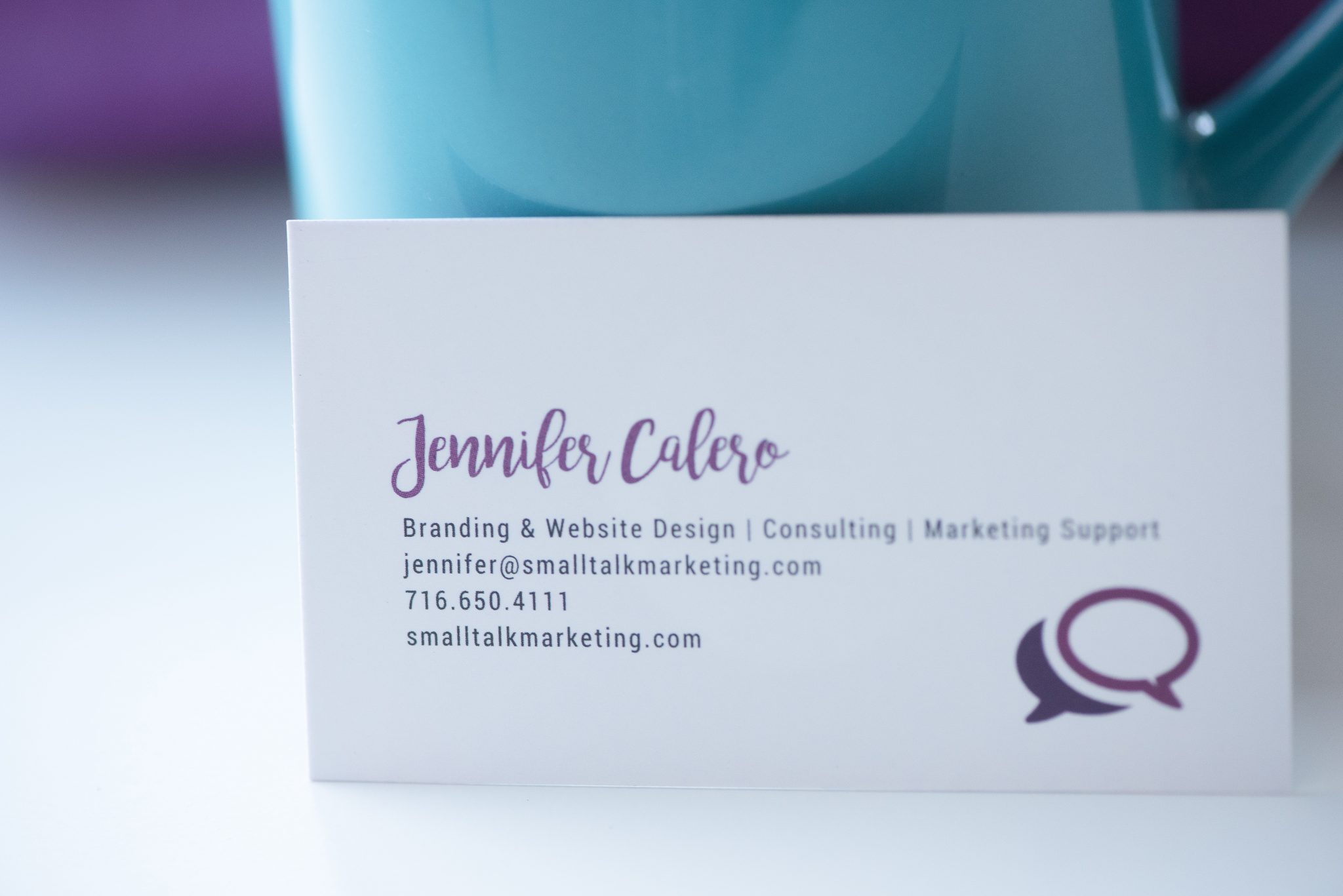 Jennifer Calero and Small Talk Marketing