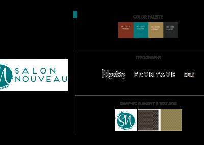 Salon Nouveau – Brand Development