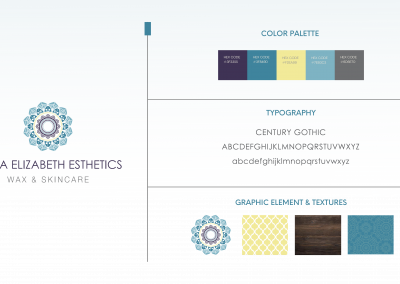 Anna Elizabeth Esthetics – Brand Development