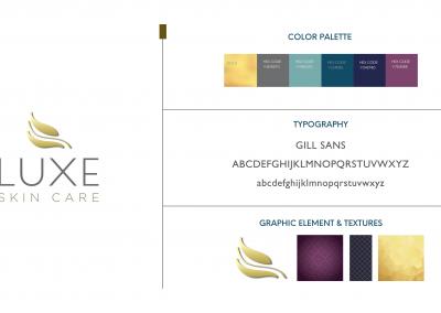 Luxe Skin Care – Brand Development