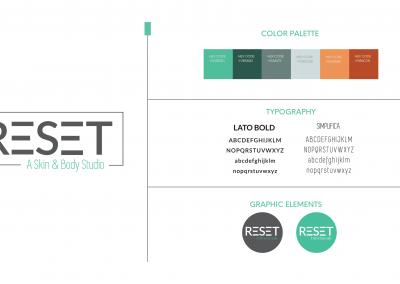 RESET Skin and Body – Brand Development