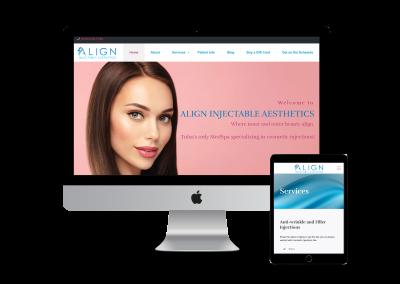Align Injectable Aesthetics Website Design