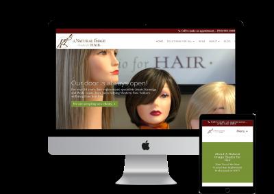 A Natural Image – Website Design Project