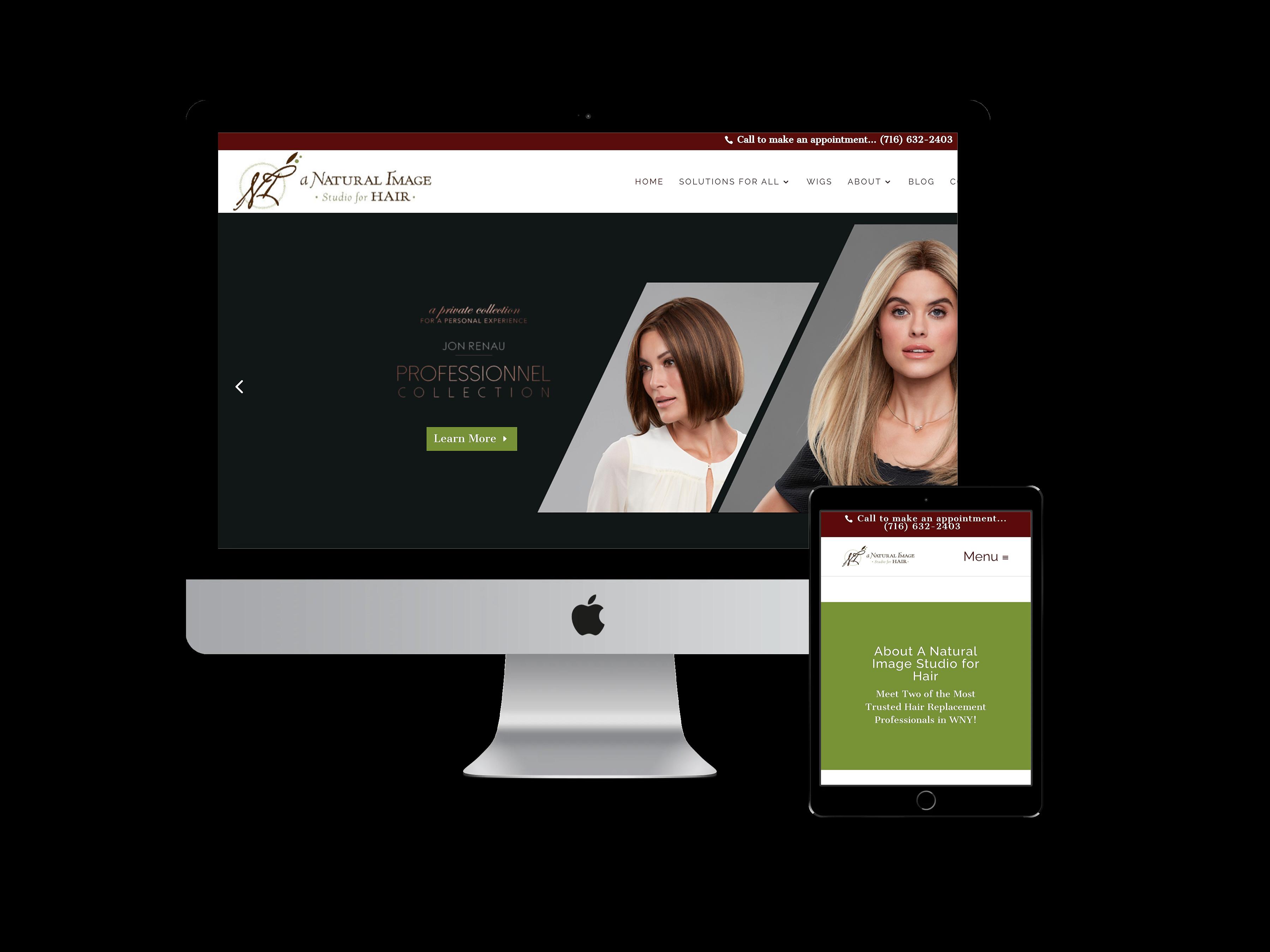 A Natural Image Website Design