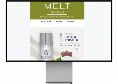 MELT Skin and Body – Email Marketing Content