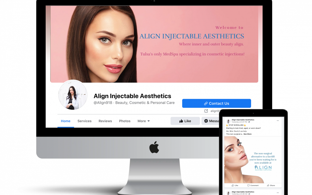 Align Injectable Aesthetics –  Social Media Posts