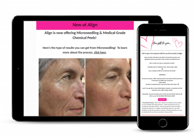 Align Injectable Aesthetics – Email Marketing