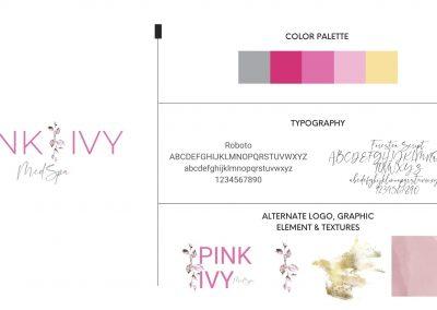 Pink Ivy MedSpa – Branding
